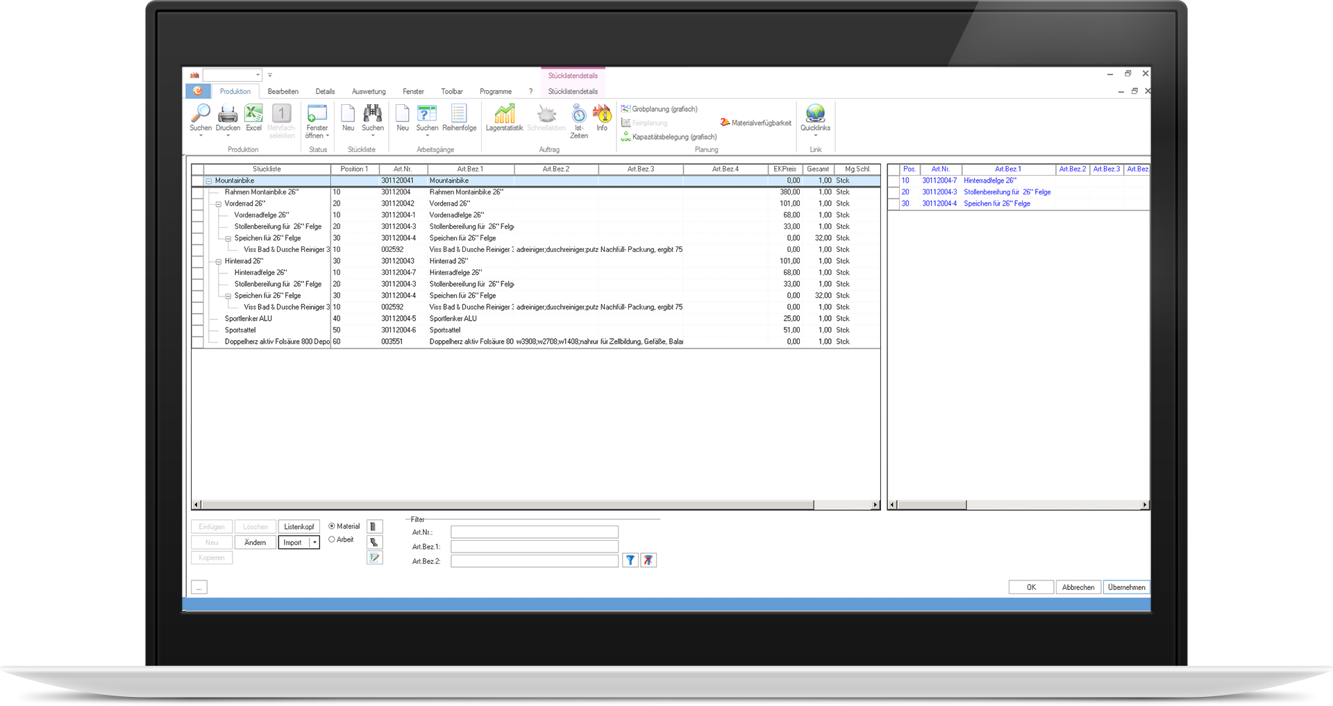 eEvolution_laptop_basis-produktion-stueckliste